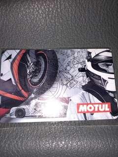 Limited Edition MOTUL ezlink card