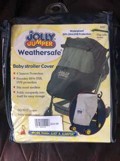 Baby stroller cover