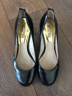 Michael Michael Kors Size 6 Black Patent Leather Heels $20