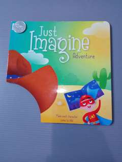 Just Imagine Adventure Hat Topi Board Import Karton Buku Anak impor imajinasi atraktif interaktif
