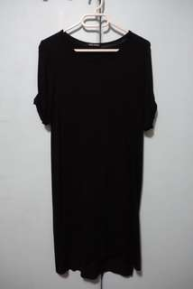 True Clothing Black Jersey Dress