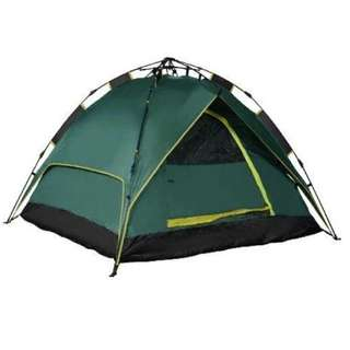 6 Person Double Layer waterproof Tent (Green)