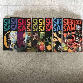 Sherlock Sam comic book