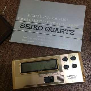 Seiko pocket alarm cal 74201