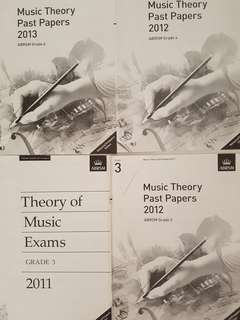ABRSM Grade 2, 3 & 4 new theory exam papers