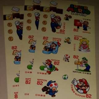 日本郵便局發行---孖寶兄弟郵票。