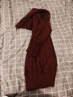 New knit jumper style dress