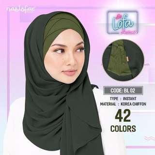 Be Lofa Shawl by Naelofar Hijab