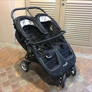Babyjogger City Mini Double Seat (Free Delivery)