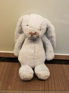 Authentic Jelly cat bunny in blue (small size)