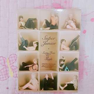 (CLEARANCE!) SUPER JUNIOR SEXY, FREE & SINGLE (B VER)