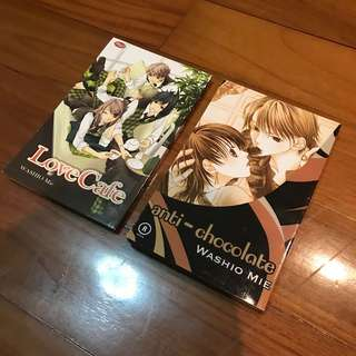 Washio Mie Manga