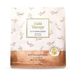 Gold Therapy Red ginseng firming mask