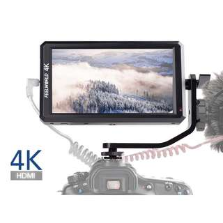 🚚 Feelworld F6 5.7 inch On-Camera Field Monitor with 4K HDMI Input