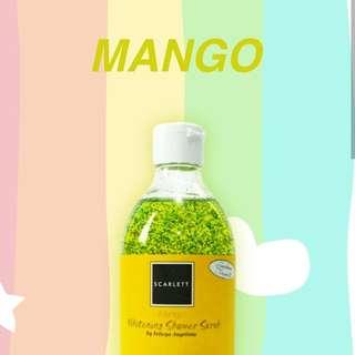 Shower Scrub Mango Scarlett Whitening
