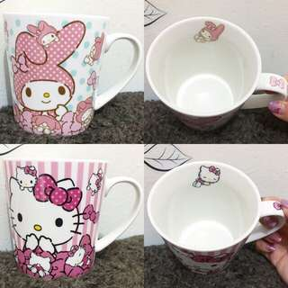 Mug Keramik Sanrio 2pcs