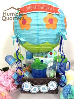 Hot Air Balloon Baby Feeding Set