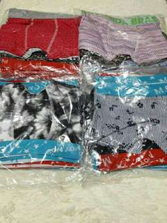 boy's brief boxers. 6pcs for 230 - 3 /4/ 6/5 years old