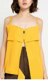 Avgal yellow outer tanktop