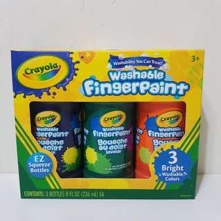 Crayola Washable Finger Paint