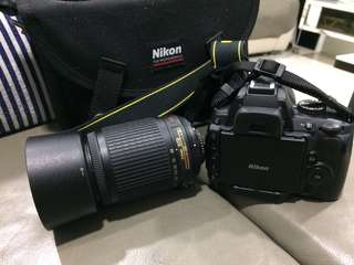 Nikon D5000 with two lens