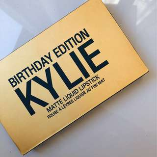 Kylie Jenner Cosmetics - Birthday Edition Matte Liquid Lipstick