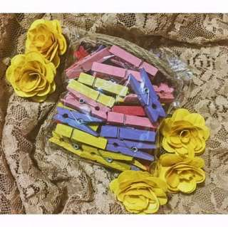 Wooden Clips (colorful)