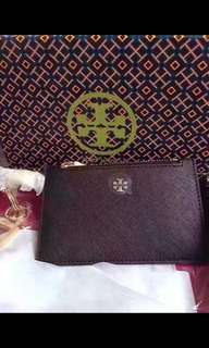 Tory burch key card bag charm