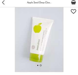 Innisfree Apple Seed Cleansing Foam
