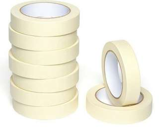 Masking Tape (3 sizes: 25mm, 36mm and 48mm)