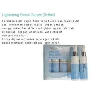 Wardah lightening facial serum