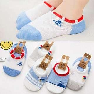 🚚 兒童網眼襪子(5雙裝)