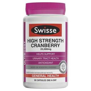 Swiss high strength cranberry 25,000mg 30capsules