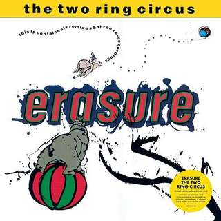 (500 copies worldwide) Erasure Two Ring Circus - Limited edition Record Store Day 2018 2 LP yellow Vinyl