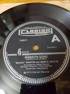 "7"" vinyl record chattanooga choo-choo"