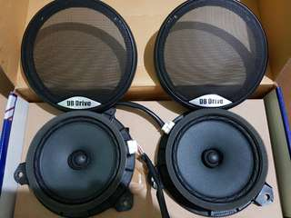 2008 Yaris Stock Side speakers