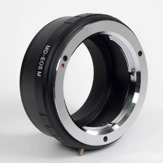 MD to EOS M adaptor ring for Minolta Lens to Canon EOS M mirrorless camera