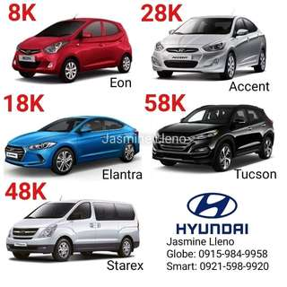 Low DP Brand New Hyundai Cars
