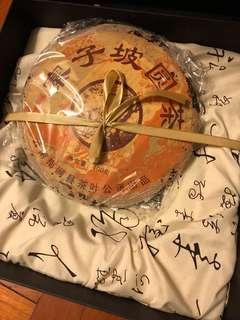 2005年寨子坡圓茶餅禮盒