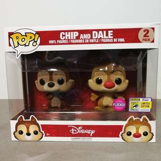 SDCC 2017 Exclusive Flocked Chip & Dale