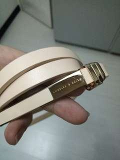 Authentic Charles and Keith Slim Belt