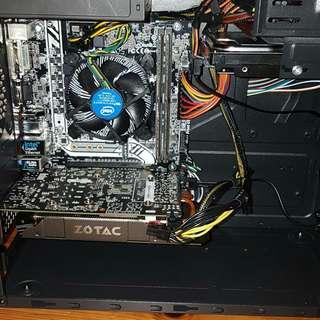Gaming PC - (GTX 1060 3GB DUAL - I5 7400)