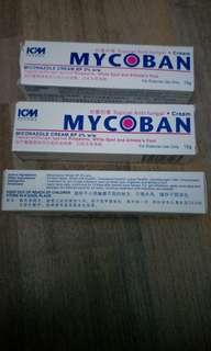 MyCoban (topical anti fungal cream)