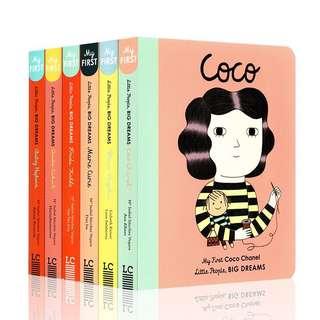 Little People Big Dreams 6 books