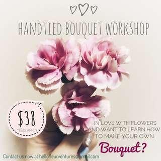 Floral Arrangement Workshop - Handtied Bouquet