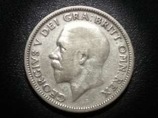 1931 Silver Shilling King George V from Great Britain