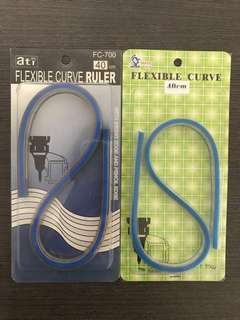 Brand new unopened Mathematics Flexible Curve Ruler/Stationery 40cm for Secondary students