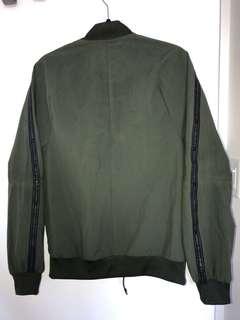 Adidas jacket (brand with 3 stripes)