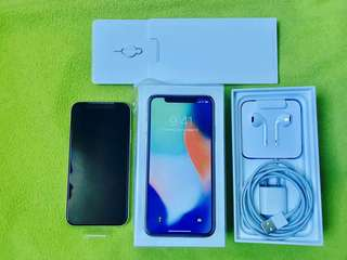 Apple iPhone X 64GB (Globelocked)