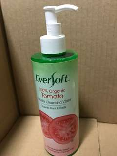 Eversoft organic tomato cleansing water